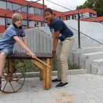 Klapperradhocker - Anton und Jonas (2)